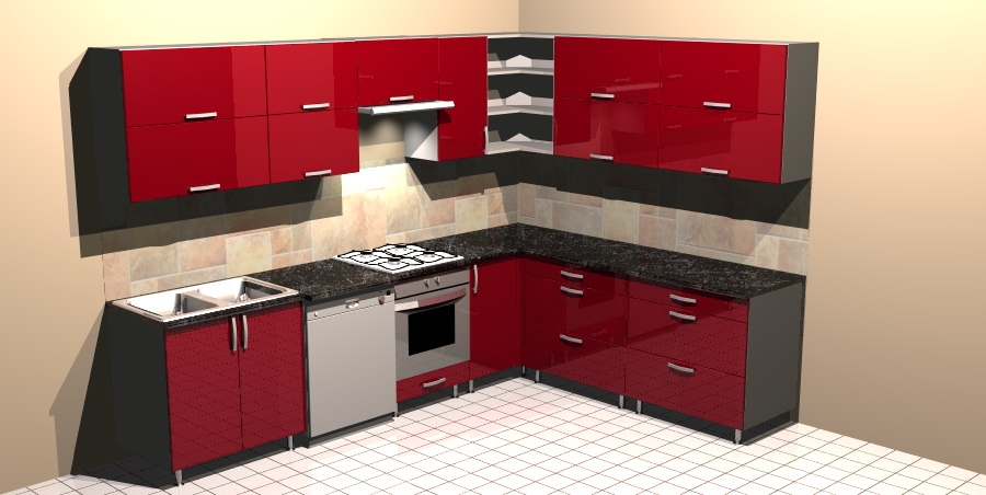 Red Kitchens Curtains Ooze Style - Kitchen Curtains Guide